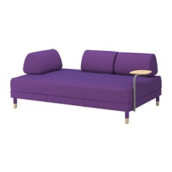 FLOTTEBO - sofa-bed with side table, Vissle purple | IKEA Hong Kong and Macau - PE729790_S3