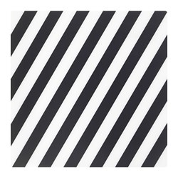 PIPIG - 餐墊, 條紋/黑色/白色 | IKEA 香港及澳門 - PE729815_S3