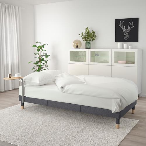FLOTTEBO - sofa-bed with side table, Gunnared medium grey | IKEA Hong Kong and Macau - PE729830_S4