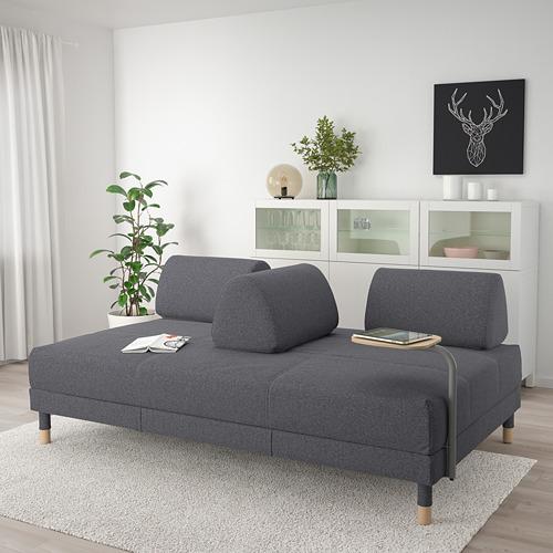 FLOTTEBO - sofa-bed with side table, Gunnared medium grey | IKEA Hong Kong and Macau - PE729833_S4