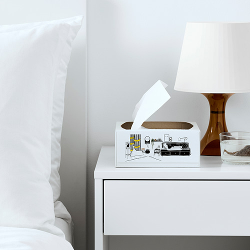 FAMILJ - 餐紙巾, 白色 | IKEA 香港及澳門 - PE772498_S4