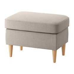 STRANDMON - footstool, Skiftebo light beige | IKEA Hong Kong and Macau - PE639251_S3