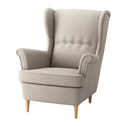 STRANDMON - wing chair, Skiftebo light beige | IKEA Hong Kong and Macau - PE639275_S3