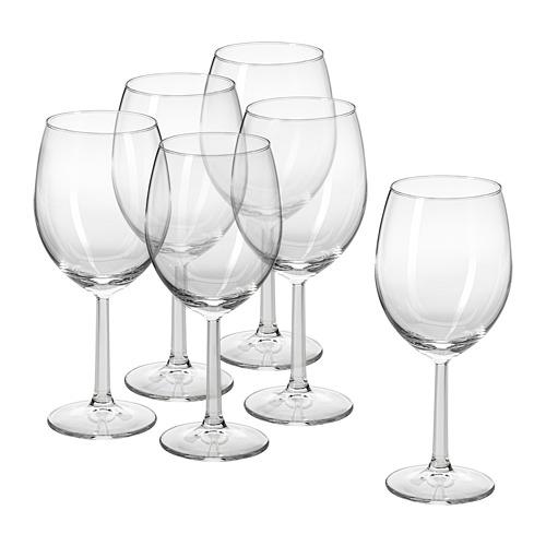 SVALKA wine glass