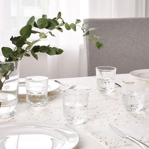 SÄLLSKAPLIG - 水杯, 透明玻璃/圖案   IKEA 香港及澳門 - PE783816_S4