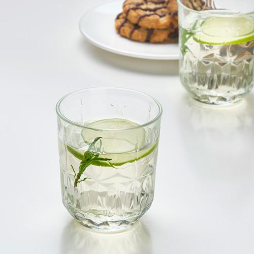 SÄLLSKAPLIG - 水杯, 透明玻璃/圖案   IKEA 香港及澳門 - PE783818_S4