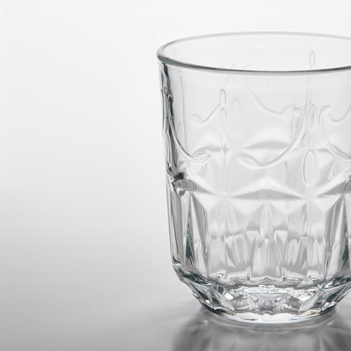 SÄLLSKAPLIG - 水杯, 透明玻璃/圖案   IKEA 香港及澳門 - PE783817_S4