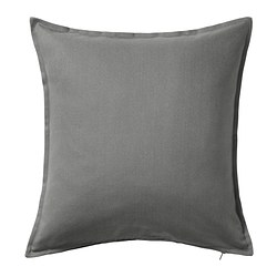 GURLI - cushion cover, grey | IKEA Hong Kong and Macau - PE369631_S3