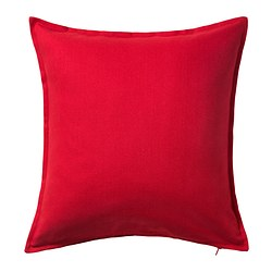 GURLI - cushion cover, red | IKEA Hong Kong and Macau - PE369627_S3