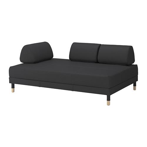 FLOTTEBO - cover sofa-bed, Vissle dark grey | IKEA Hong Kong and Macau - PE729880_S4