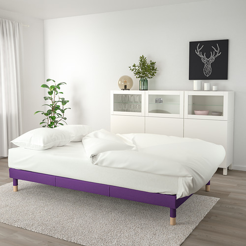 FLOTTEBO - sofa-bed with storage, Vissle purple   IKEA Hong Kong and Macau - PE729890_S4