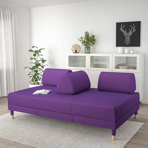 FLOTTEBO - sofa-bed with storage, Vissle purple   IKEA Hong Kong and Macau - PE729891_S4