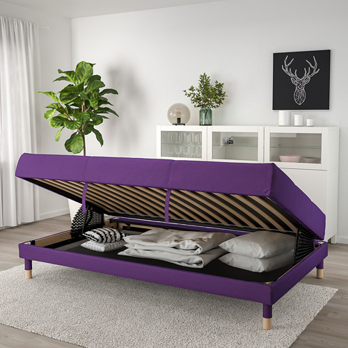 FLOTTEBO - sofa-bed with storage, Vissle purple   IKEA Hong Kong and Macau - PE729892_S4