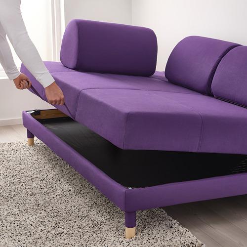 FLOTTEBO - sofa-bed with storage, Vissle purple   IKEA Hong Kong and Macau - PE729896_S4