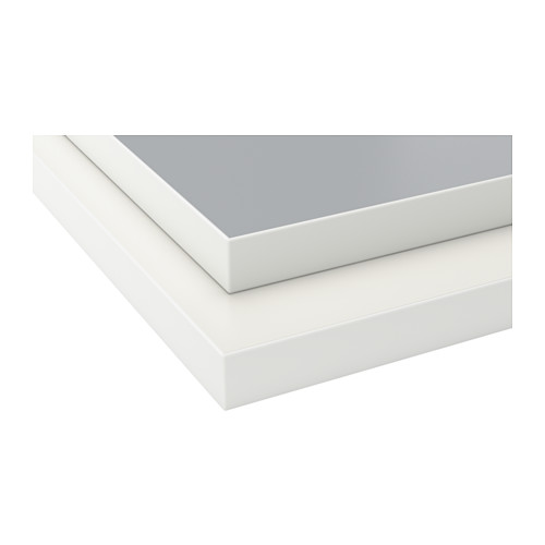 EKBACKEN - worktop, double-sided, light grey/white with white edge | IKEA Hong Kong and Macau - PE513612_S4