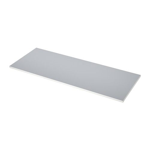 EKBACKEN - worktop, double-sided, light grey/white with white edge | IKEA Hong Kong and Macau - PE513613_S4