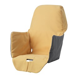 LANGUR - padded seat cover for highchair, yellow | IKEA Hong Kong and Macau - PE639326_S3