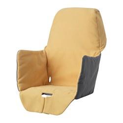 LANGUR - 高腳椅椅套,備襯墊, 黃色 | IKEA 香港及澳門 - PE639326_S3