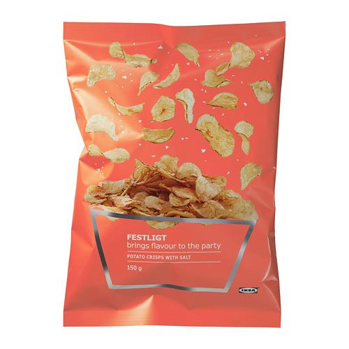 FESTLIGT - 薯片, 鹽味 | IKEA 香港及澳門 - PE729995_S4