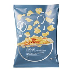 FESTLIGT - potato crisps, sour cream/onion | IKEA Hong Kong and Macau - PE730000_S3