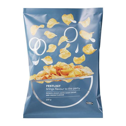 FESTLIGT - potato crisps, sour cream/onion | IKEA Hong Kong and Macau - PE730000_S4