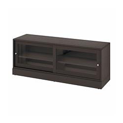HAVSTA - TV bench with plinth, dark brown | IKEA Hong Kong and Macau - PE783889_S3