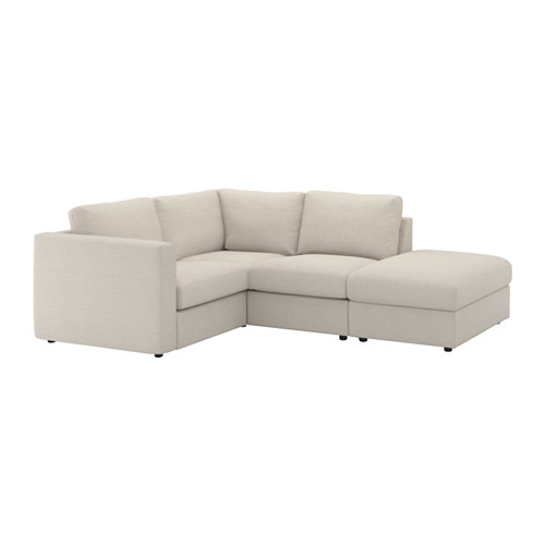VIMLE cover for corner sofa, 3-seat