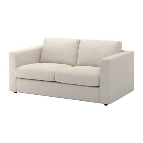 VIMLE - cover for 2-seat sofa, Gunnared beige | IKEA Hong Kong and Macau - PE639442_S4