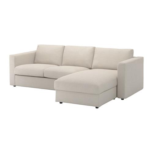 VIMLE cover for 3-seat sofa