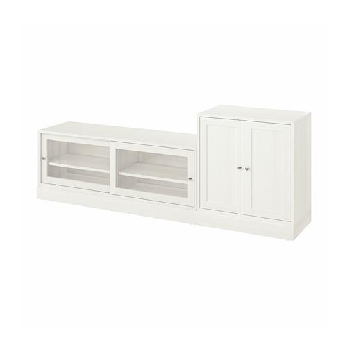 HAVSTA - TV storage combination, white | IKEA Hong Kong and Macau - PE783917_S4