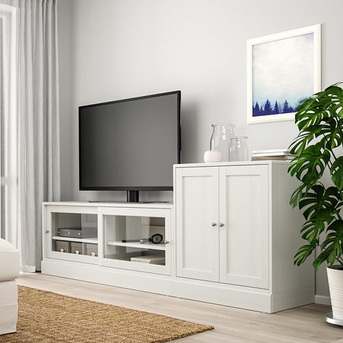 HAVSTA - TV storage combination, white | IKEA Hong Kong and Macau - PE783918_S4