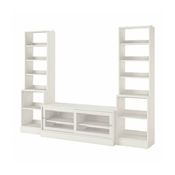 HAVSTA - TV storage combination, white | IKEA Hong Kong and Macau - PE783930_S3