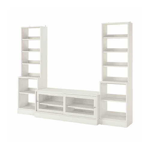 HAVSTA - TV storage combination, white | IKEA Hong Kong and Macau - PE783930_S4