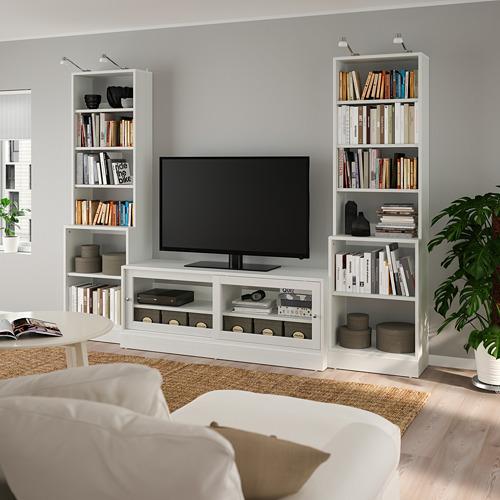 HAVSTA - TV storage combination, white | IKEA Hong Kong and Macau - PE783931_S4