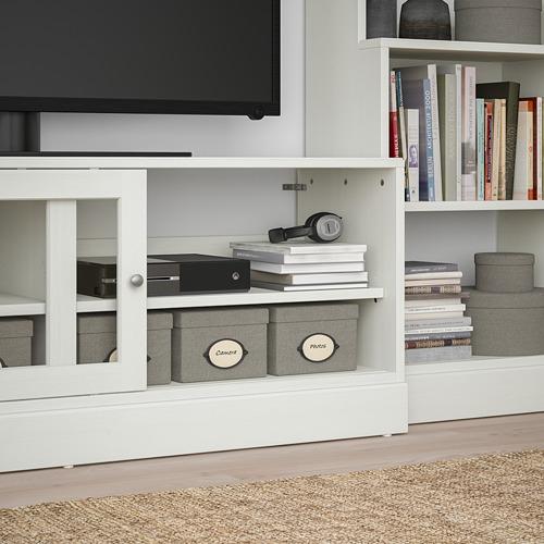 HAVSTA - TV storage combination, white | IKEA Hong Kong and Macau - PE783928_S4