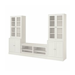 HAVSTA - 電視貯物組合/玻璃門, 白色 | IKEA 香港及澳門 - PE783943_S3