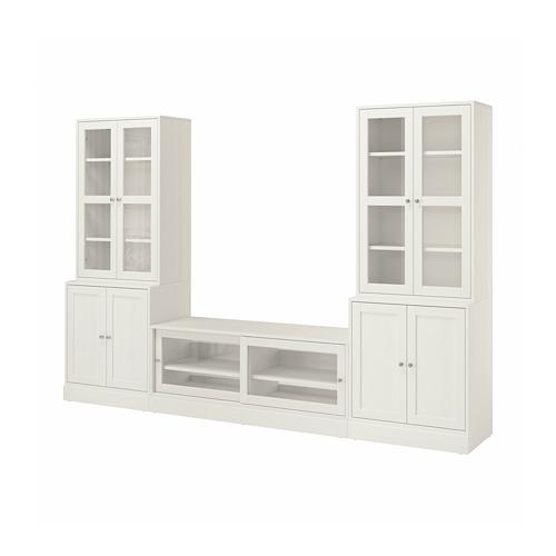 HAVSTA - 電視貯物組合/玻璃門, 白色 | IKEA 香港及澳門 - PE783943_S4