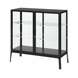 MILSBO - 玻璃門貯物櫃, 炭黑色 | IKEA 香港及澳門 - PE783959_S3