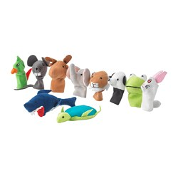 TITTA DJUR - finger puppet, mixed colours | IKEA Hong Kong and Macau - PE730093_S3