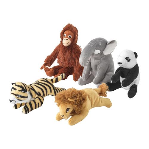 DJUNGELSKOG - soft toy, assorted designs   IKEA Hong Kong and Macau - PE730095_S4