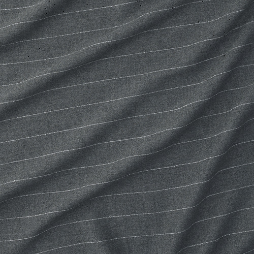 MILDRUN - curtains, 1 pair, dark grey/striped | IKEA Hong Kong and Macau - PE772577_S4