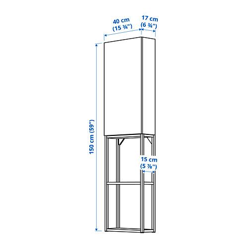 ENHET - 上牆式貯物架組合, white/oak effect   IKEA 香港及澳門 - PE784022_S4