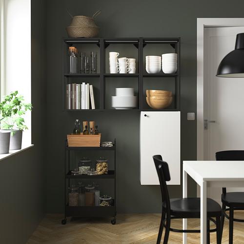 ENHET - storage combination for laundry, anthracite/white | IKEA 香港及澳門 - PE784046_S4