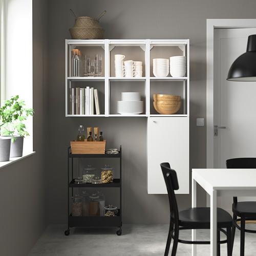 ENHET - storage combination for laundry, white   IKEA 香港及澳門 - PE784042_S4