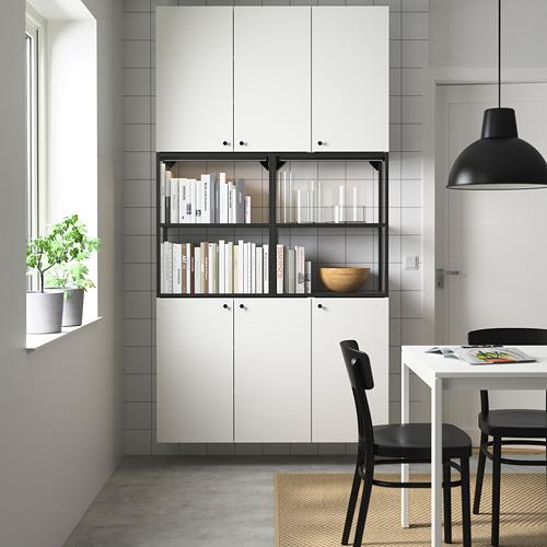 ENHET - 上牆式貯物架組合, anthracite/white   IKEA 香港及澳門 - PE784045_S4