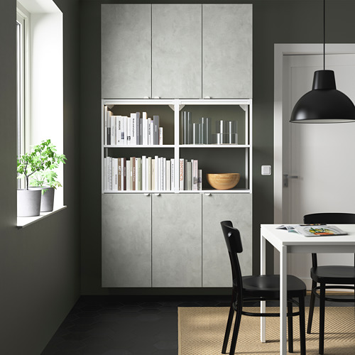 ENHET - 上牆式貯物架組合, white/concrete effect   IKEA 香港及澳門 - PE784053_S4