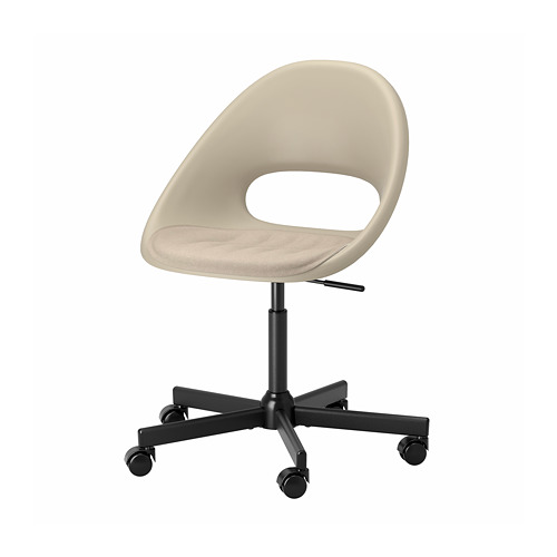 MALSKÄR/ELDBERGET swivel chair with pad