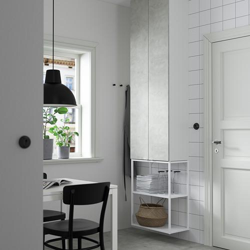 ENHET - 上牆式貯物架組合, white/concrete effect | IKEA 香港及澳門 - PE784103_S4