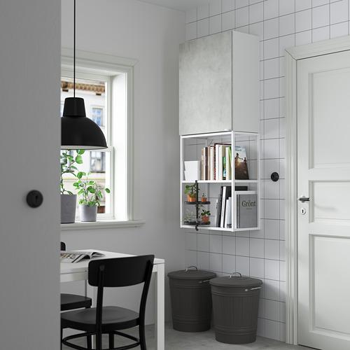 ENHET - 上牆式貯物架組合, white/concrete effect   IKEA 香港及澳門 - PE784081_S4