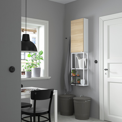 ENHET - 上牆式貯物架組合, white/oak effect   IKEA 香港及澳門 - PE784090_S4
